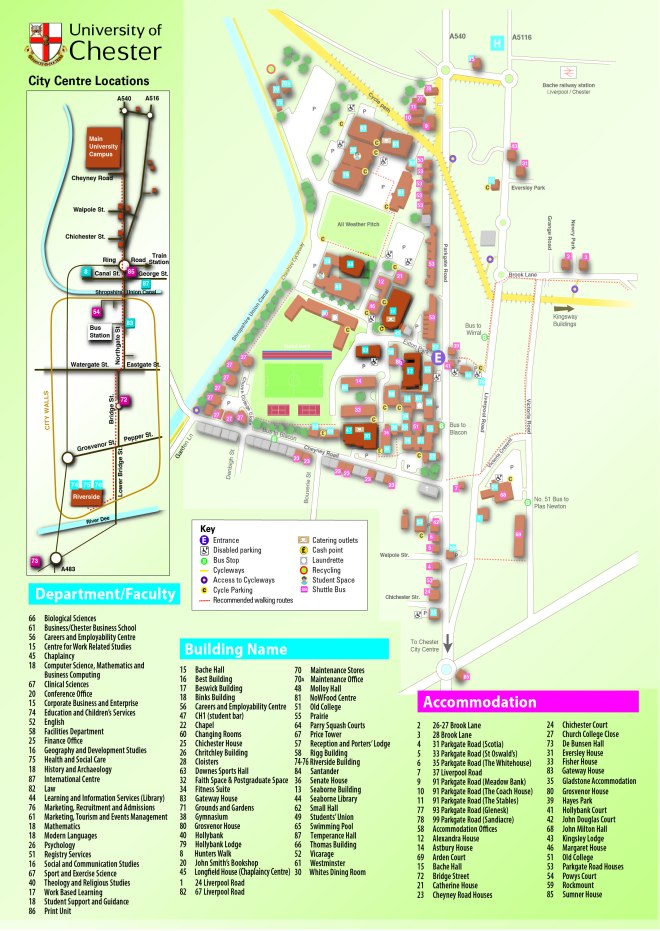 TAG orientation map Campus